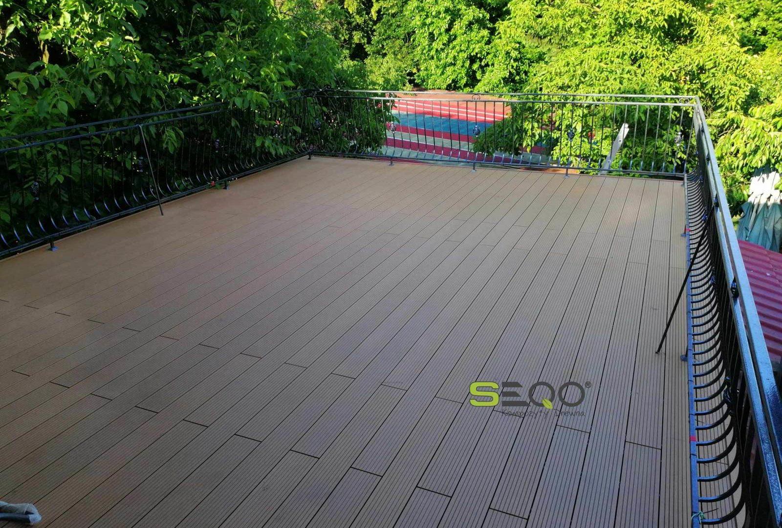 Taras kolor drewno naturalne - SEQO Standard