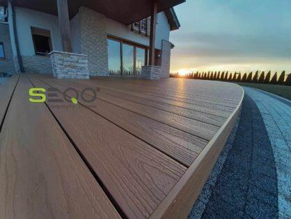 Kolor drewno naturalne Deska SEQO Premium